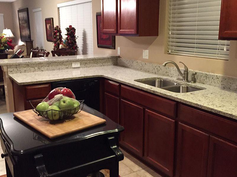 Best Branco Dallas Granite Countertops In Kitchen With 400 x 300