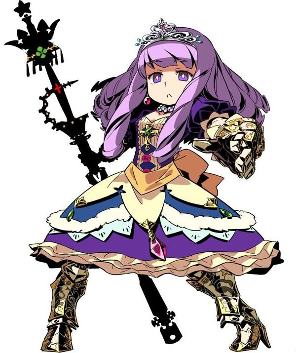 Princess character class from Etrian Odyssey III, by Himukai Yuuji.