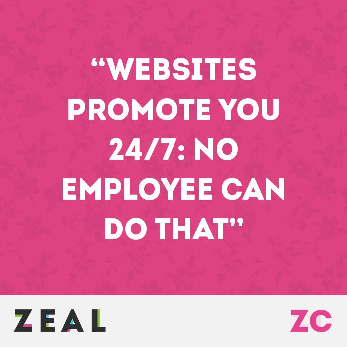 Websites Promote You  No Employee Can Do That Quote