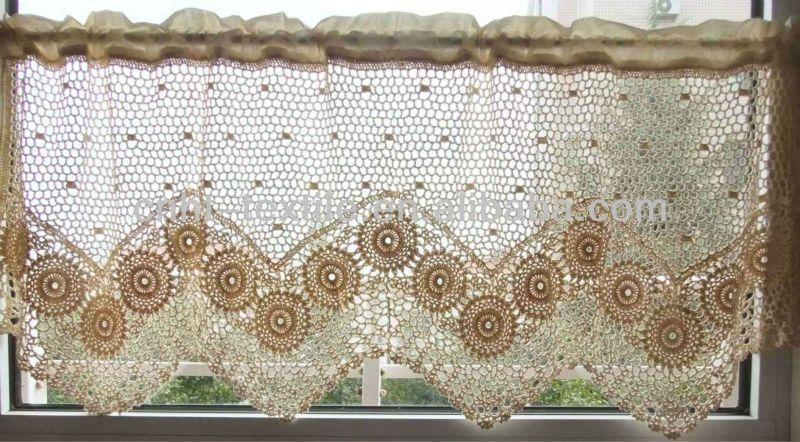 Patrones cortinas crochet para cocina - Imagui | CROCHET | Pinterest ...