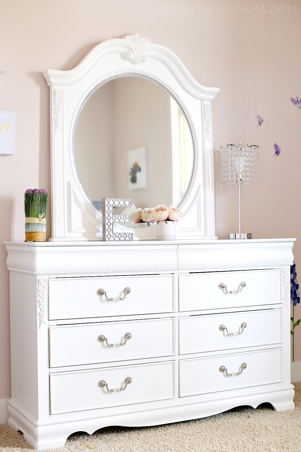 Jessica White Dresser From American Furniture Warehouse Bedroom