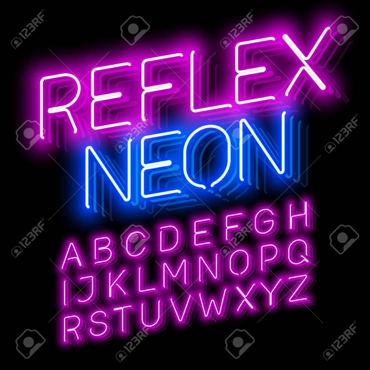 Pin By Moises On Still The One Neon Logo Fonts Neon Signs
