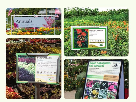 Buy OnlineDurable plant sign holders for your plant bench cards – Garden Plant Signs