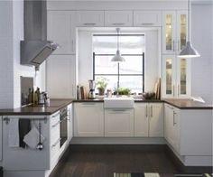 JCT❤️.  White kitchen cabinets, Countertops and Dark granite countertops