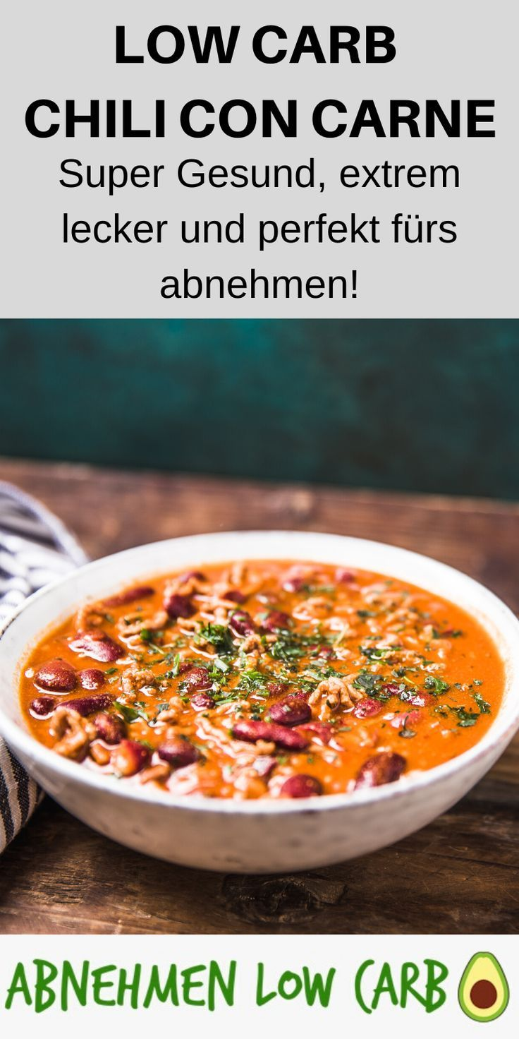 Low Carb Chili con carne – Abnehmen Low Carb