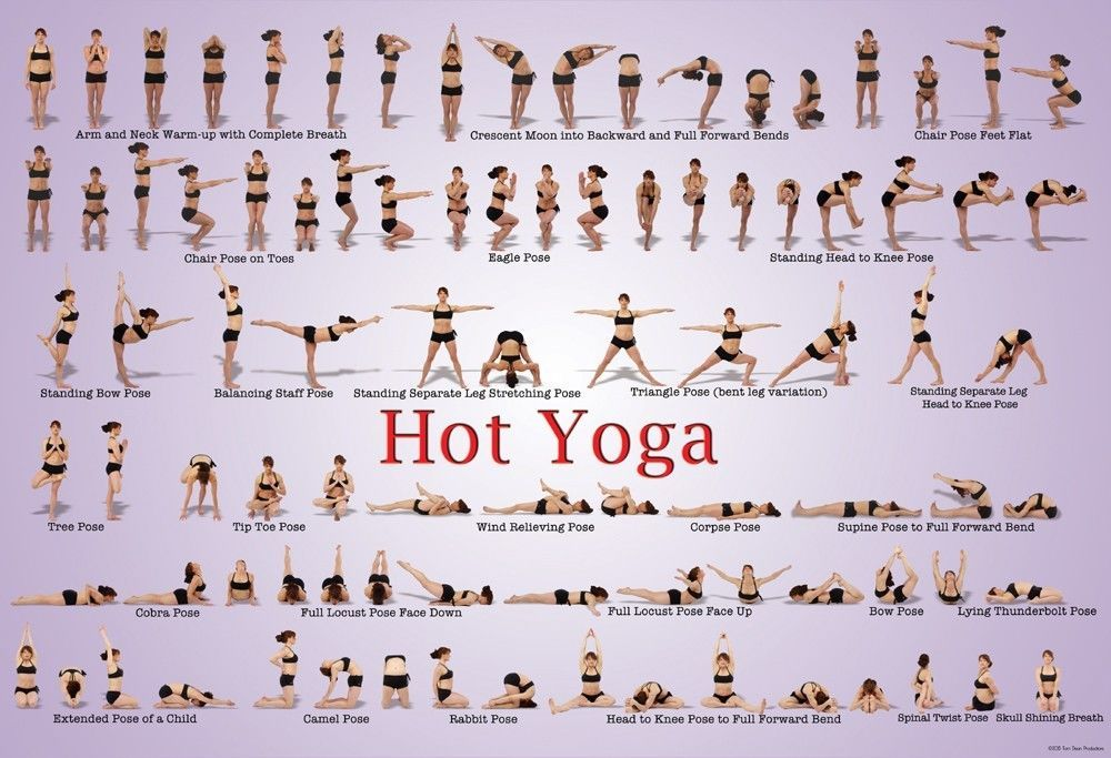 Details about Hot Yoga Poster 24