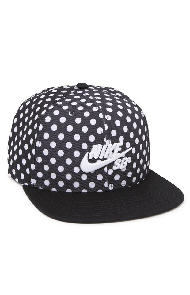 85a7d42d124 Nike SB Polka Icon Snapback Hat - Mens Backpack - Black - One ...