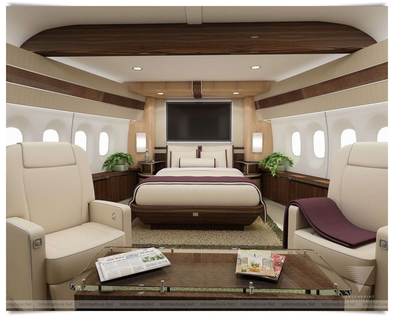 Gulfstream g650 interior bedroom new bbj   interiors luxurious private jets  pinterest  jets