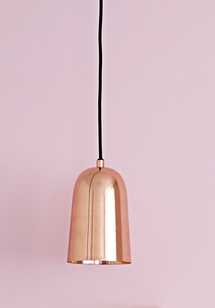 Freja Copper Pendant Light Bodie And Fou Copper Pendant Lights Copper Lighting Mini Pendant Lights