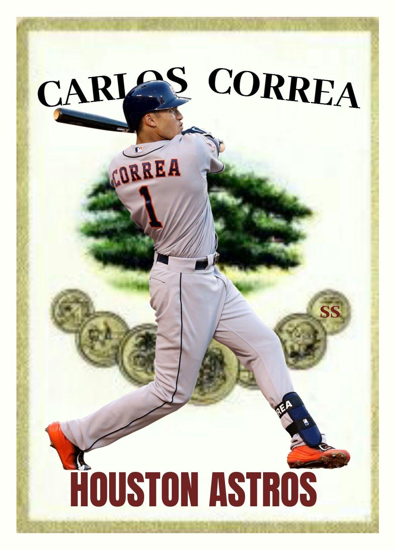 Palo Viejo Custom Baseball Card Carlos Correa Carlos Correa Baseball Baseball Cards