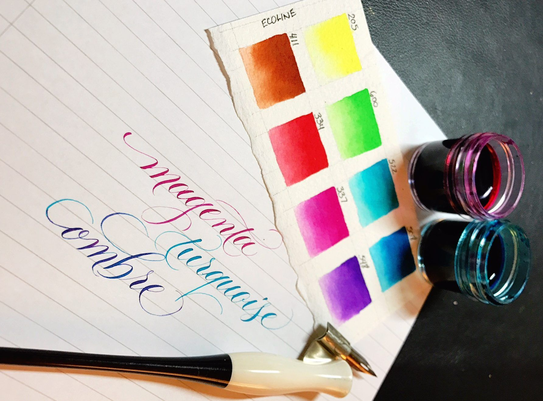 Review Of The Ecoline Liquid Watercolor By Kei Haniya Liquid Watercolor Watercolor Calligraphy