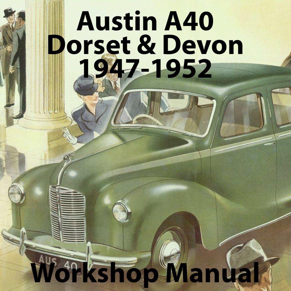 Austin A40 Devon  U0026 Dorset 1947