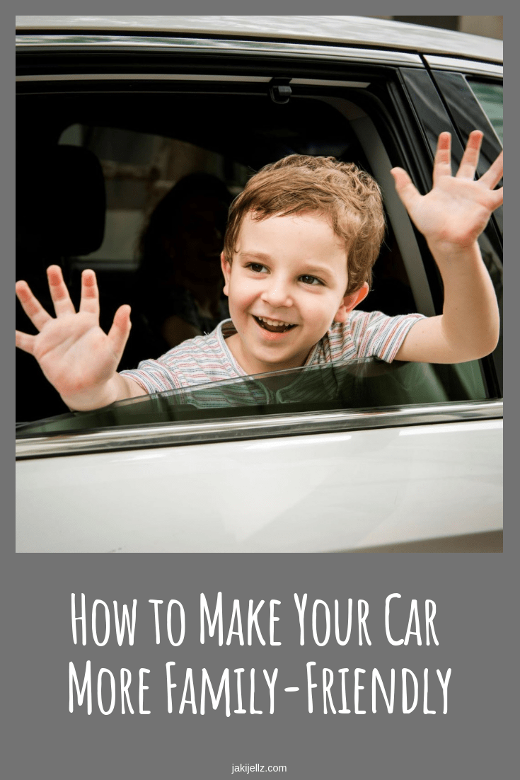 How to Make Your Car More FamilyFriendly Family