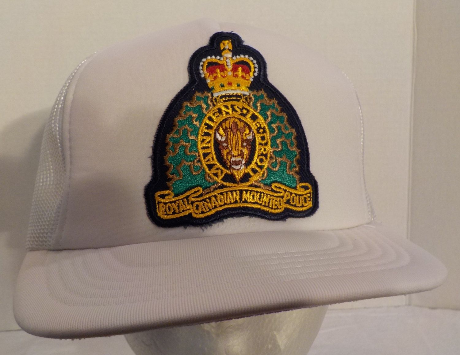 Vintage Snapback RCMP Royal Canadian Mounted Police Truckers Baseball Hat  Cap by… 91a04918db8