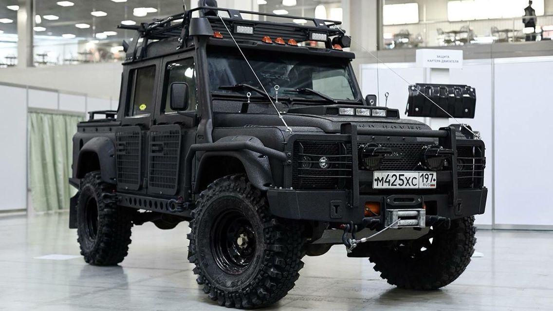 2015 Land Rover Defender Sixty8 от ателье Startech Land
