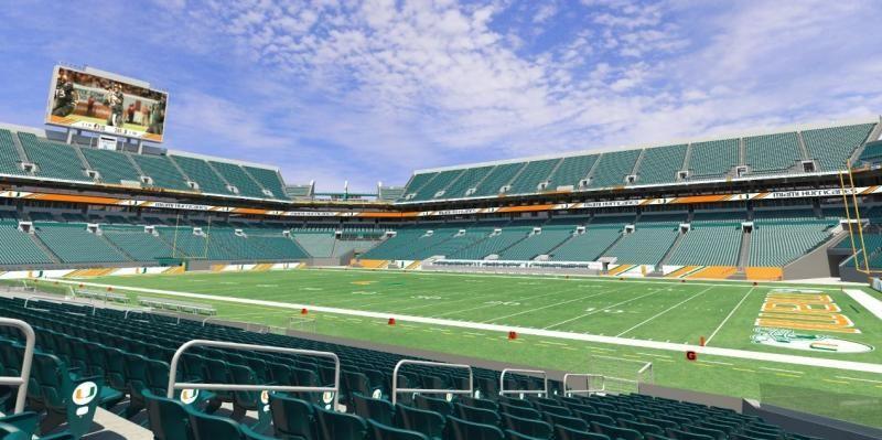 Sun Life Stadium Renovations For 2015 Sun Life Stadium Stadium University Of Miami