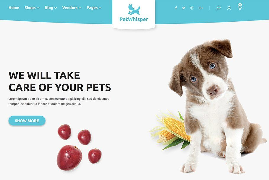 Petwhisper Food Gog Cat Woocommtheme In 2020 Woocommerce Themes Ecommerce Themes Wordpress Ecommerce Theme