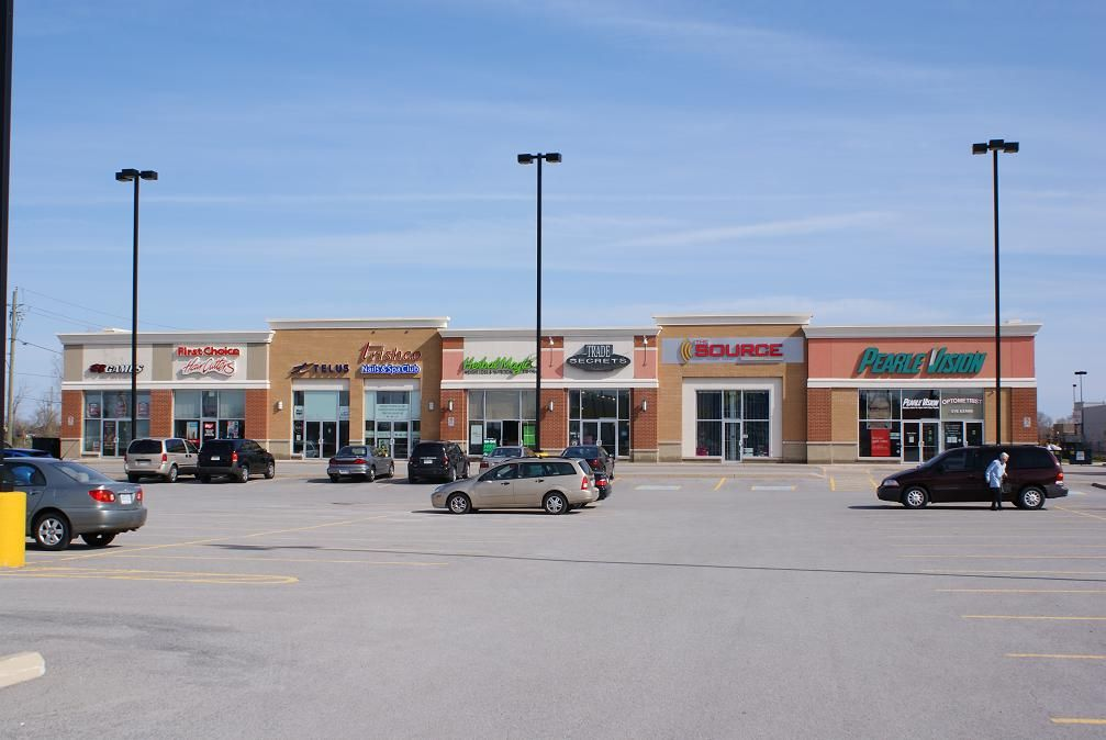 Strip Mall Renovation Manorcore Group Inc Plaza