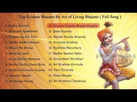 Top Krishna Bhajan By Art Of Living Bhajans Full Song Krishna Bhajan Songs Krishna