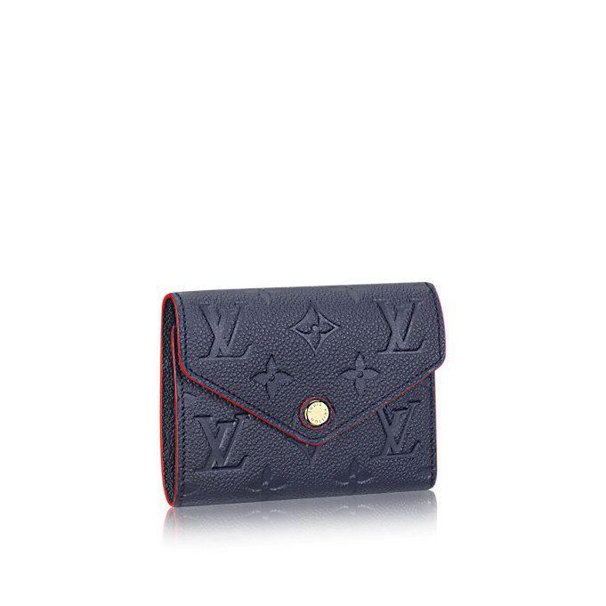 c119f107c562 Women s Luxury Christmas Gift - Victorine Wallet Monogram Empreinte Leather  Women Small Leather Goods Wallets