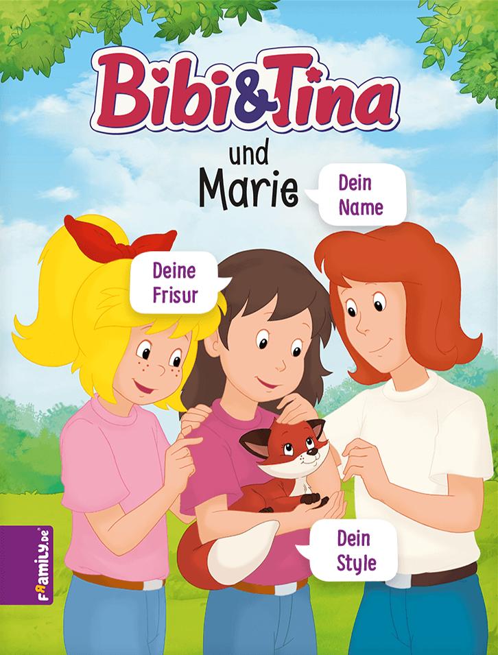 Bibi Blocksberg Liebt Pferde Und Verbringt Ihre Ferien Immer Bei Tina Auf Dem Martinshof Fur Dein Kind Bibi Und Tina Personalisierte Kinderbucher Kinderbucher