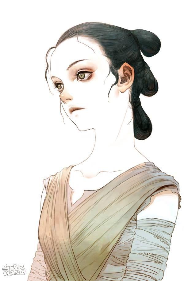 Rey by Tahra art