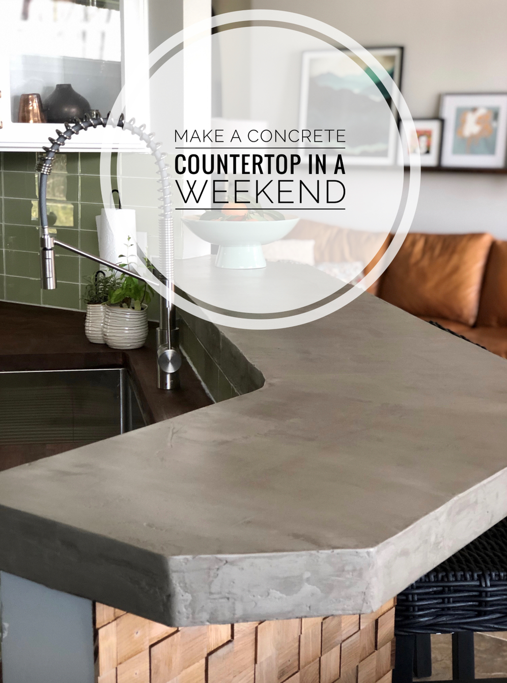 How To Make A Concrete Counter Top Mark In 2019