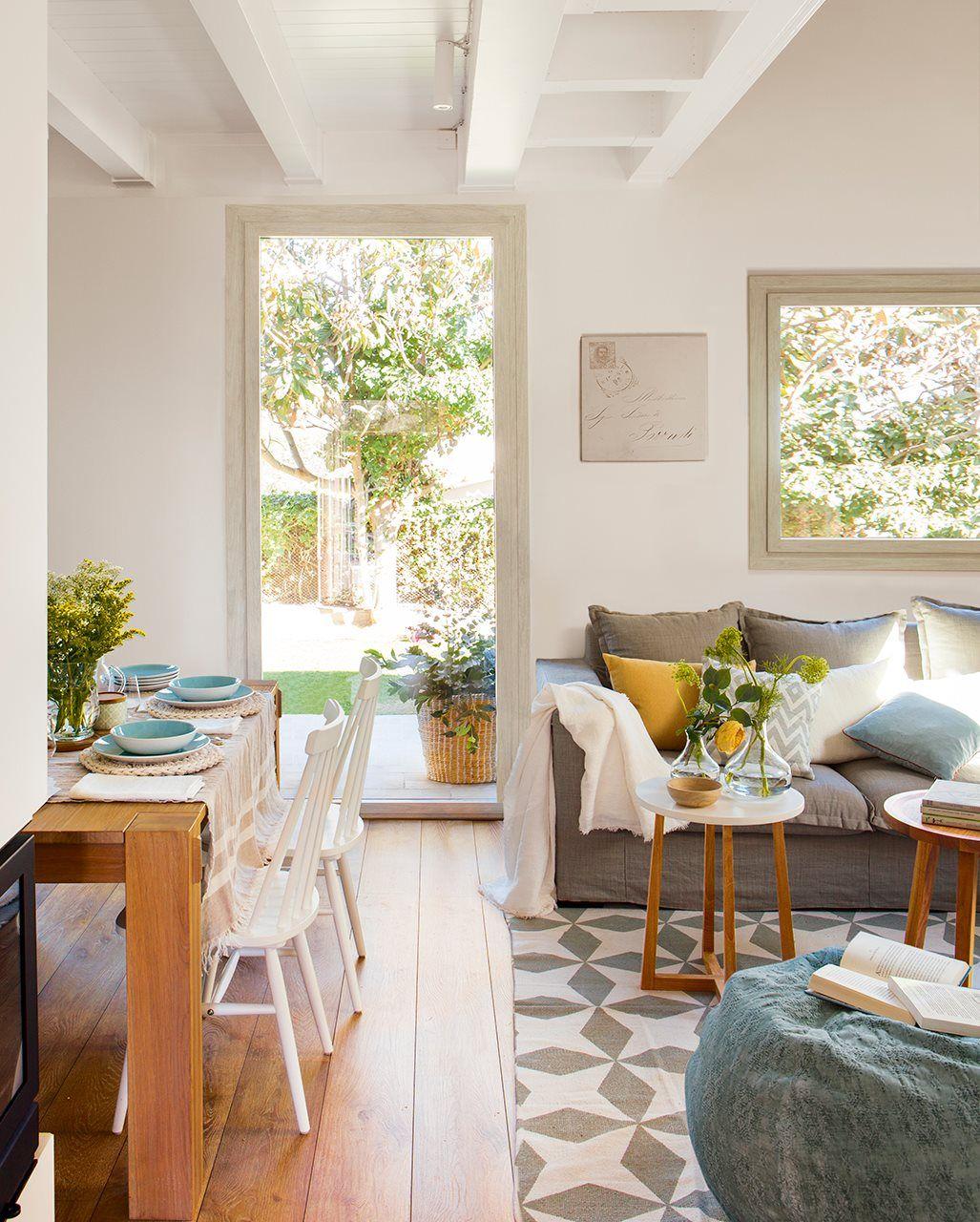 Sal n comedor con vistas al jard n living rooms salons and room - El mercader de venecia muebles outlet ...