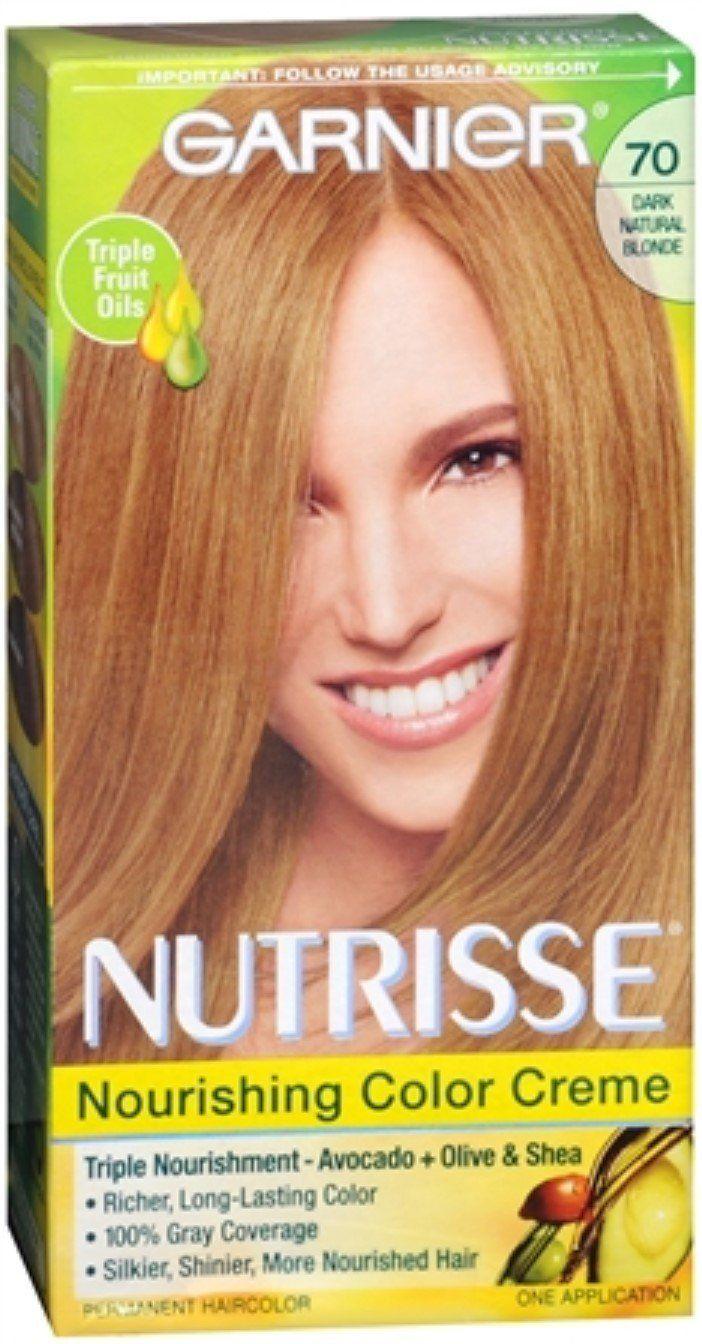 Garnier Nutrisse Haircolor 70 Almond Creme Dark Natural Blonde 1