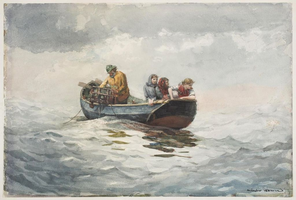 Winslow Homer Crab Fishing Winslow Homer Wikipedia