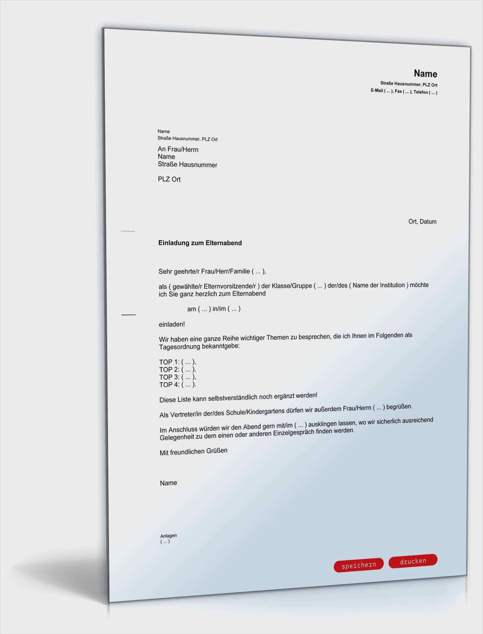 Schonste Elternabend Einladung Vorlage Ebendiese Konnen Einstellen In Ms Word In 2020 Lebenslauf Briefkopf Vorlage Vorlagen