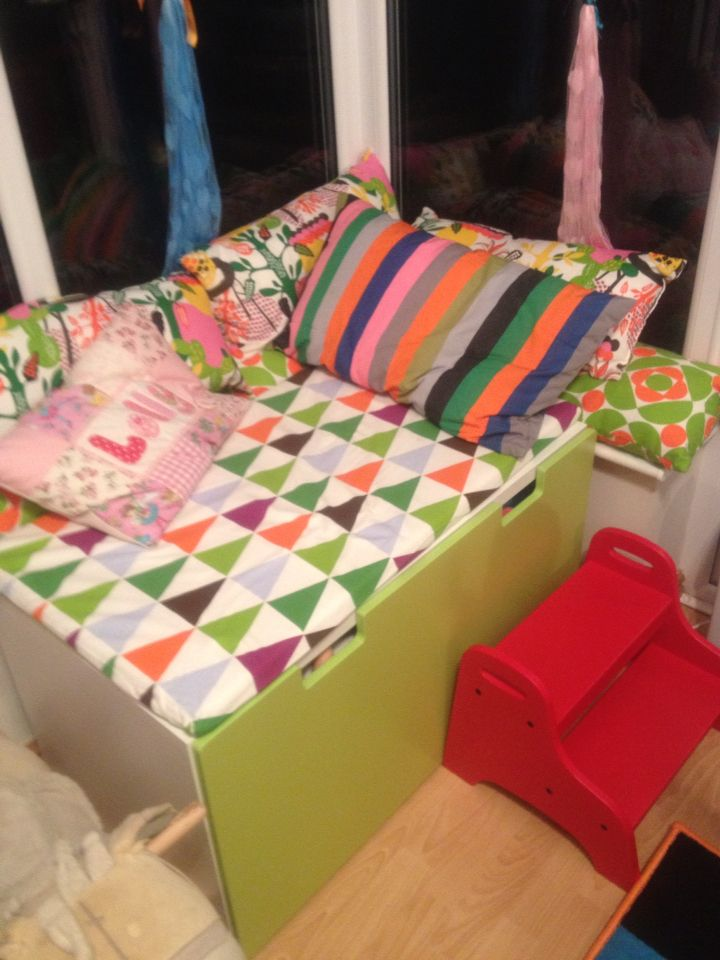 Ikea Stuva Bench And Drawer Converted Into A Window Seat