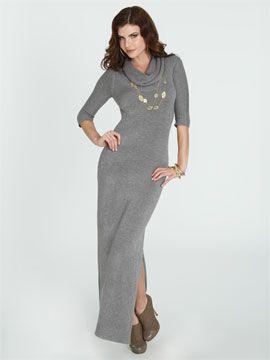 ea56290e72 Maxi length sweater dress