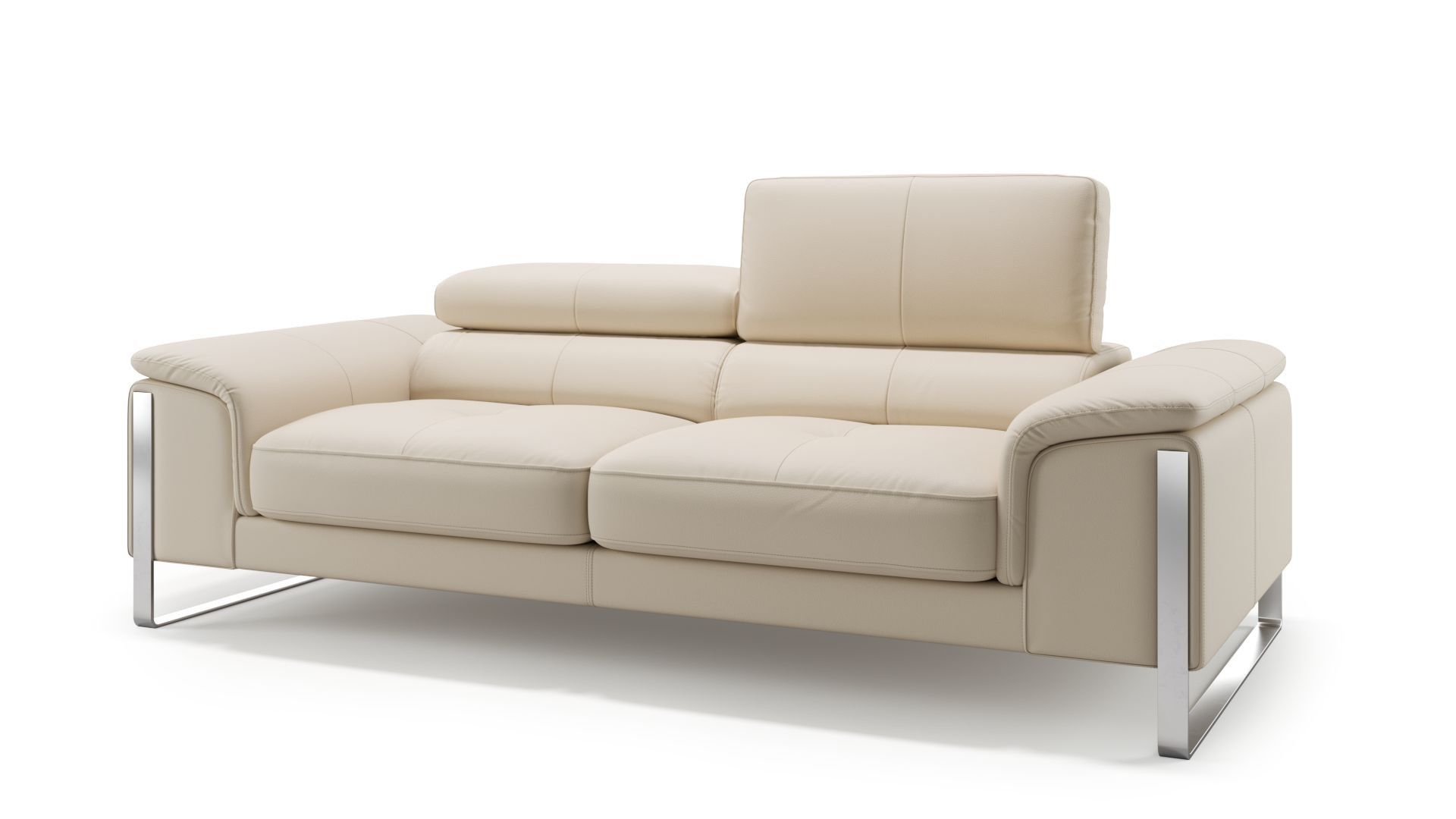 Sofa Material Inspirational Leder 3 Sitzer Pizolli Mit Individuellem Kopfteil