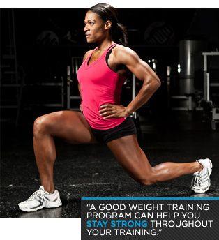 marathon weight training stay strong during marathon