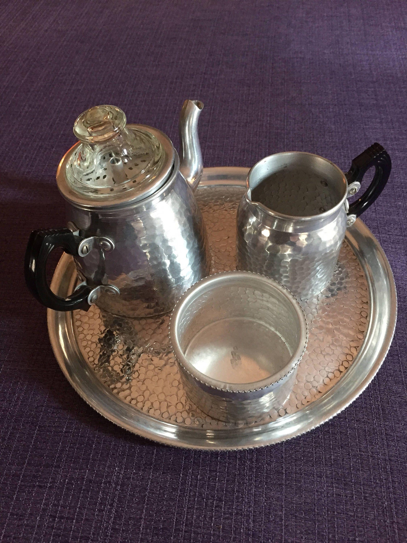 Tea Party Mini Teapot SonaWare Teapot Aluminum Teapot Sona Ware Teapot English Teapot Bakelite Teapot Single Serving Teapot