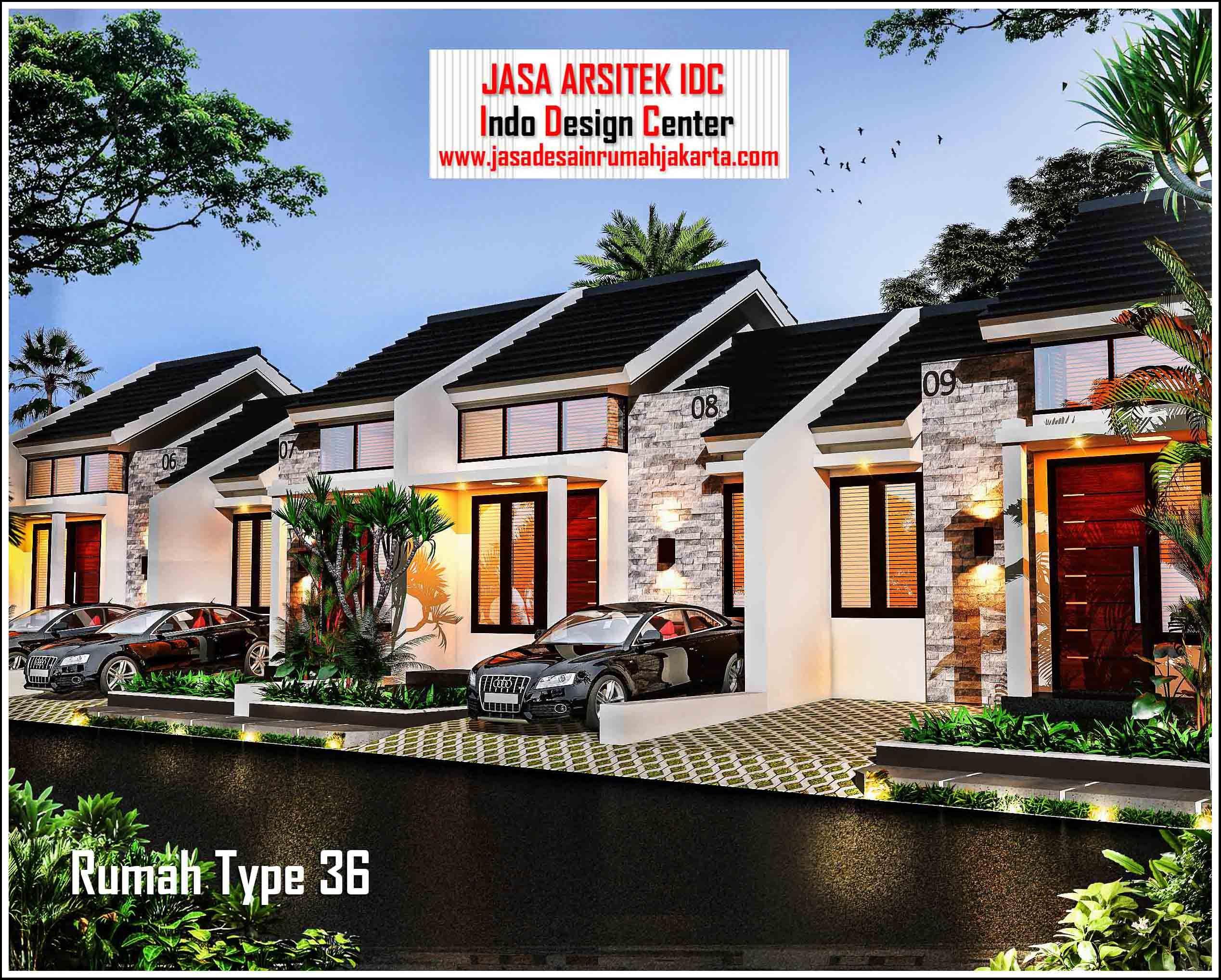 Jasa Arsitek Rumah Minimalis Type 36 Part 3 Of 3 Denah Rumah Type