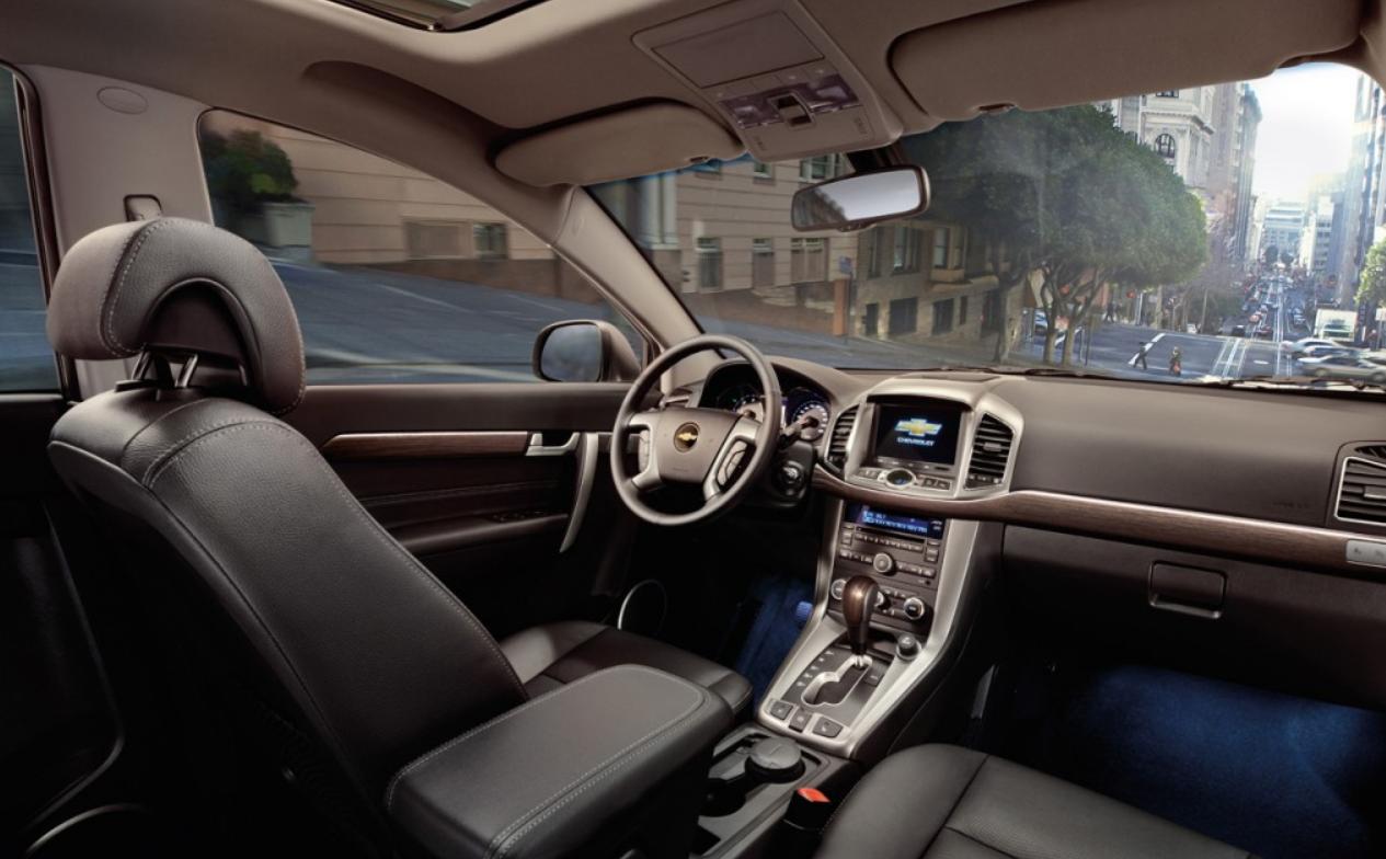 Chevrolet Captiva Interior | Chevrolet | Pinterest | Chevrolet ...