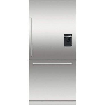 19 4 Cu Ft Stainless Steel Counter Depth Bottom Freezer Refrigerator Energy Star Bottom Freezer Refrigerator Bottom Freezer Counter Depth Refrigerator