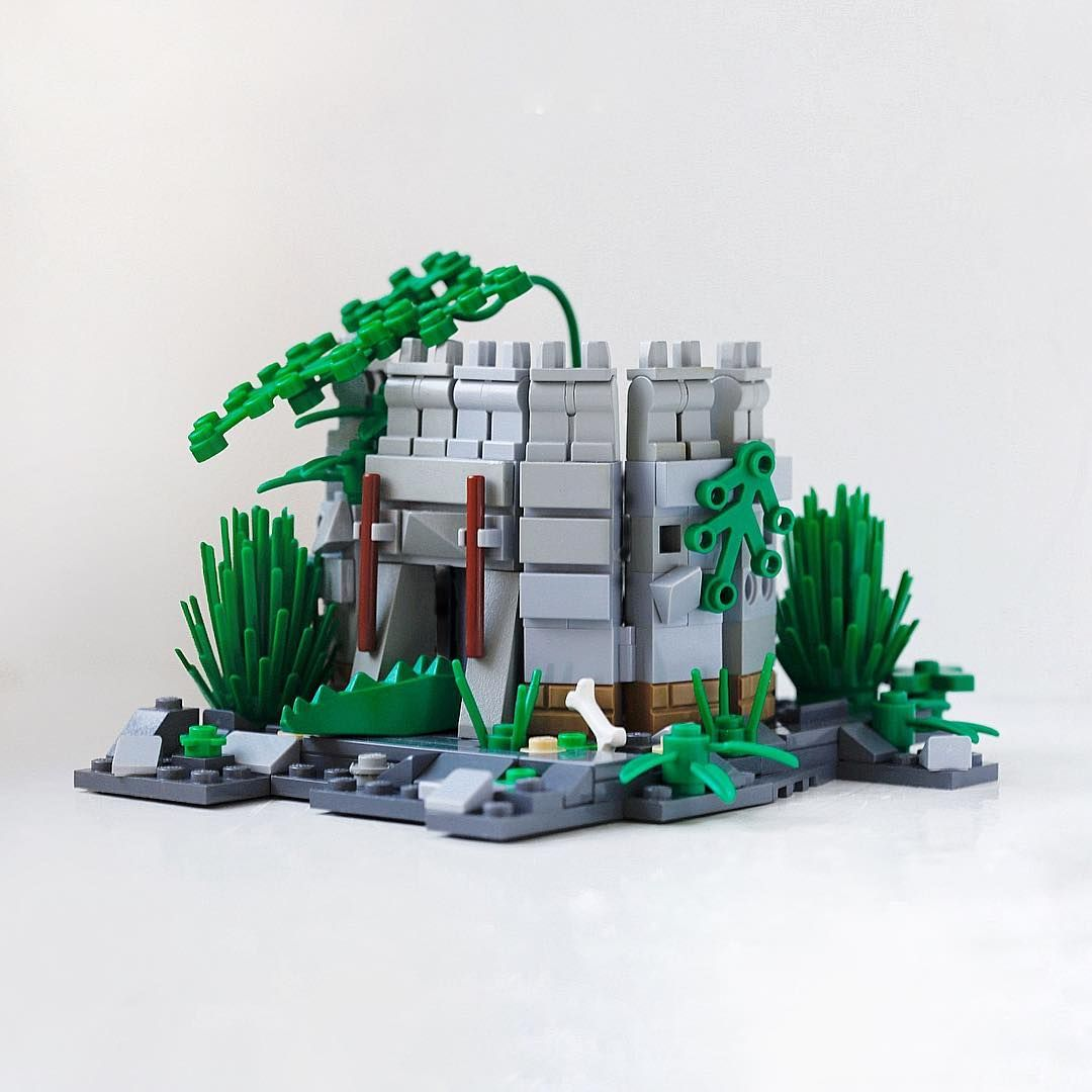 Mongiesama Instagram Photos And Videos Miniatures Lego Castle