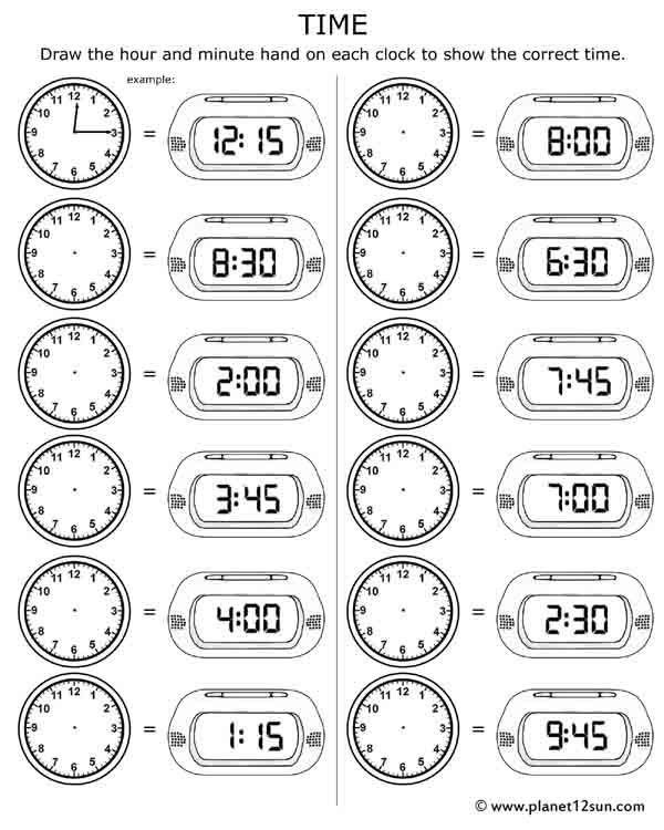 Telling Time Free Printable Worksheet Time Worksheets Telling Time Worksheets 3rd Grade Math Worksheets