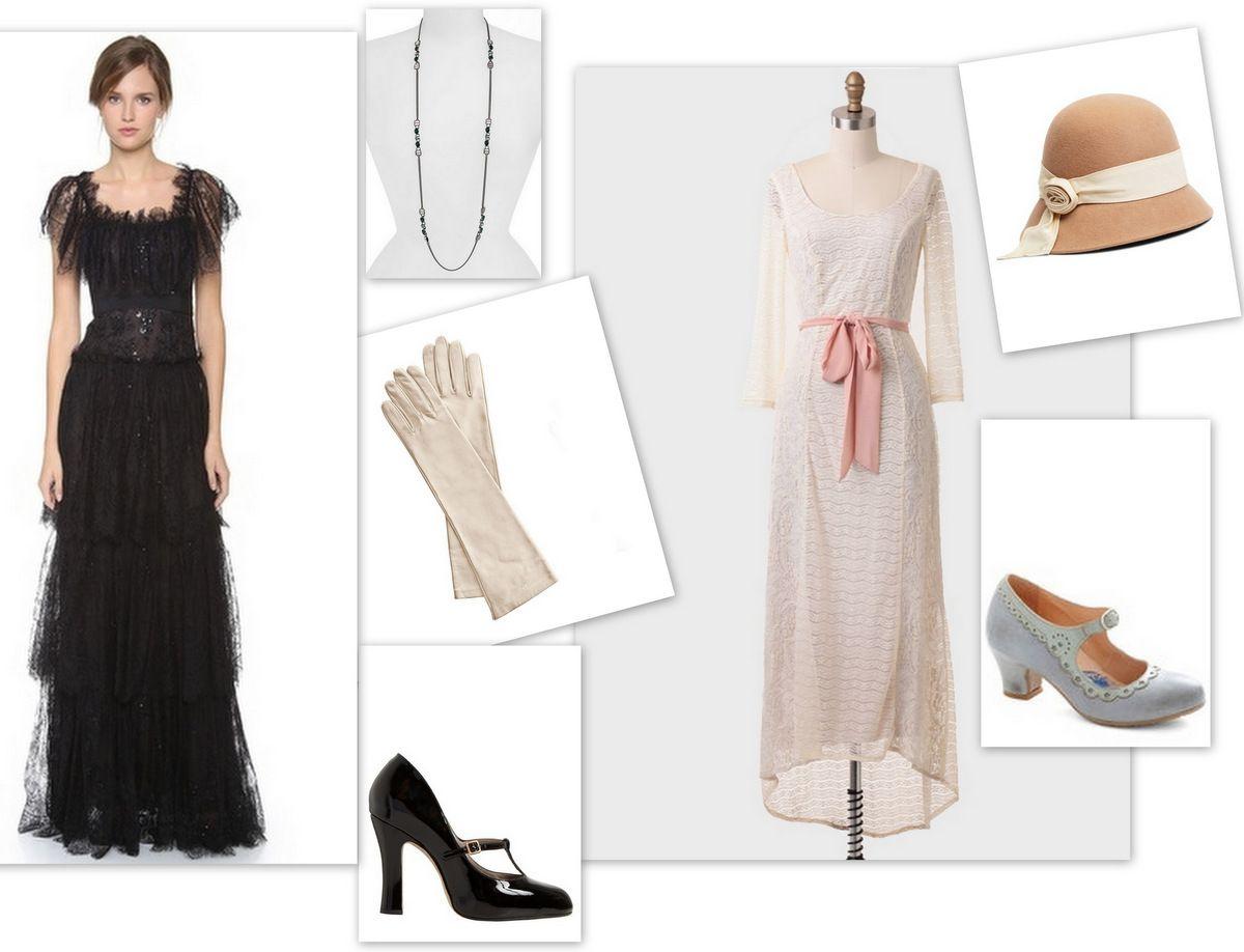 Downton Abbey Style Marchesa Marc Jacobs Givenchy Edwardian Fashion