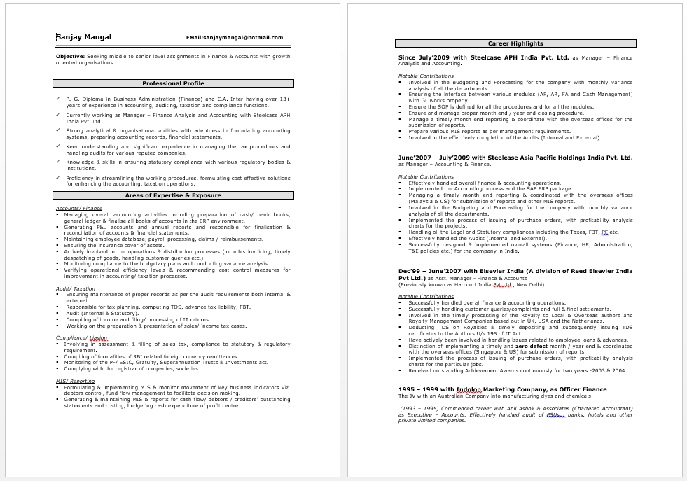 Oracle Financials Expert Resume Resume, Best resume