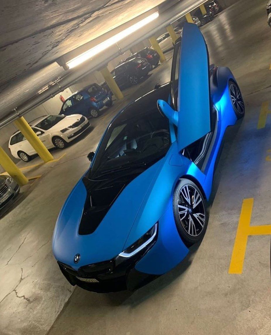 Supercars L Exotices L Motors On Instagram Amazing Blue Bmw I8 Carssport22 Bmw I8 Super Cars Bmw Sports Car