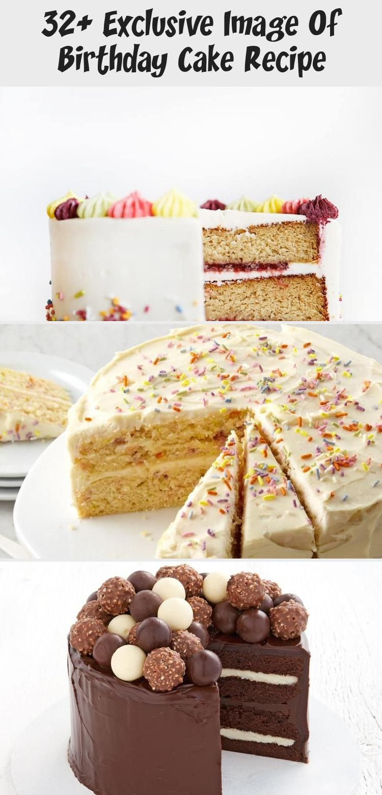 Photo of 32+ Exclusive Image of Birthday Cake Recipe Birthday Cake Recipe Surprise Pinata…