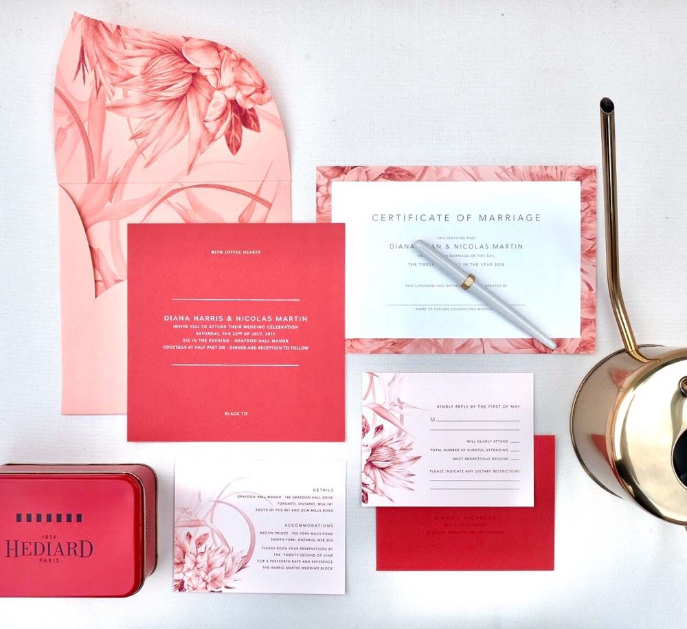 Expert Advice For Designing Unique Wedding Stationery | Pinterest ...