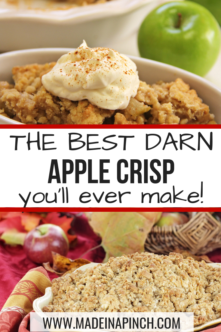 Best Darn Apple Crisp #applecrisp