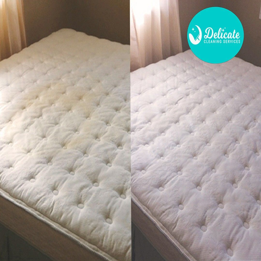 Mattress yellow stains cover on How To