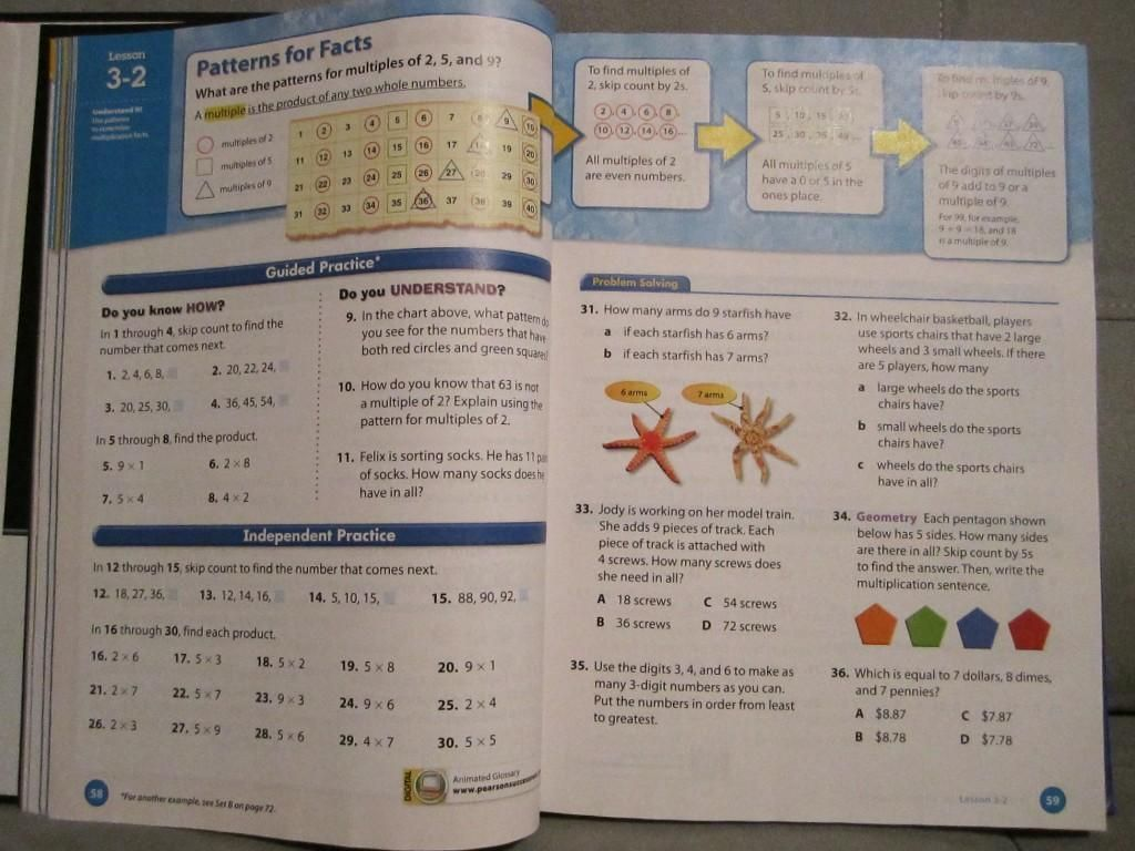 10 Pearson Education Math Worksheets Grade 6 Nel