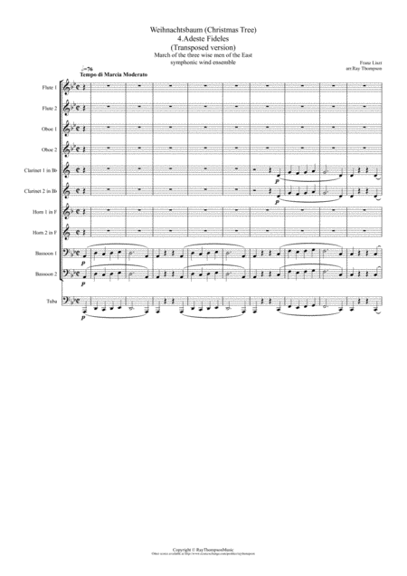 Franz Liszt Christmas Music